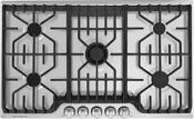 Frigidaire Professional Series Fpgc3677rs 36 Gas Cooktop With 5 Sealed Burners