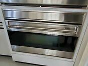 Wolf So36u S Used 36 Built In L Series Stainless Steel Electric Oven B