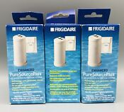 3x Frigidaire Pure Source Plus Filtration Water Filter Wfcb Genuine New Sealed