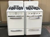 Vintage Wedgewood Holly Gas Stoves 20 Inch Antique 50s Classic Atomic Pair Wow