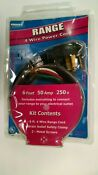 Electric Range Cable 6 Ft 50 Amp 4 Prong Plug With Strain Relief