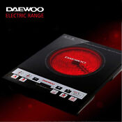 Daewoo Cooktop Electric Range Hot Plate Single Portable Highlight Dwr Sh170p