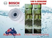 2 X Genuine Bosch Fridge Water Filter 740560 740572 643019 644845 9000077104