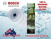 Genuine Bosch Fridge Water Filter 740572 643019 Aus Free Same Day Shipping
