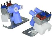 Refrigerator Water Inlet Solenoid Valve Wr57x10051 For Ge Hotpoint Kenmore Rca