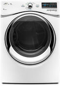 Whirlpool Duet Wgd94hexw 27 White Gas Front Load Steam Dryer 7 4 Cuft New Deal