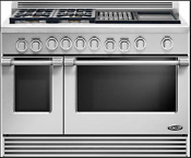 Dcs Professional Style Rdv484ggn 48 Stainless Slide In Dual Fuel Range New Deal