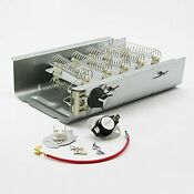 Dryer Heating Element Electric Washer Thermostat Part Whirlpool Kenmore Part