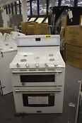Maytag Mgt8720dh 30 White Double Oven Gas Range Nob T 2 14905