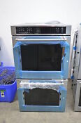 Kitchenaid Kode507ess 27 Stainless Electric Double Wall Oven Nob 1673 New Wlk