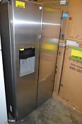 Samsung Rs25j500dsr 36 Stainless Side By Side Refrigerator Nob 13036 Sts