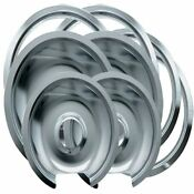 Range Kleen 1056rge8 Ge Hinged Drip Pans And Trim Rings Containing 2 Units 105a