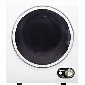 Magic Chef 1 5 Cu Ft Compact Electric Dryer White