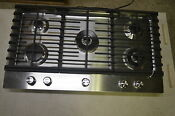 Kitchenaid Kcgs956ess 36 Stainless Gas Cooktop W 5 Sealed Burner 6056