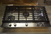 Kitchenaid Kcgs956ess 36 Stainless Gas Cooktop W 5 Sealed Burner 6054