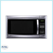 Countertop Microwave Stainless Steel Magic Chef 1 6 Cu Ft In