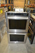 Kitchenaid Kode500ess 30 Stainless Double Electric Wall Oven Nob 17159
