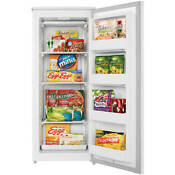 Danby Designer 8 5 Cu Ft Upright Freezer White New
