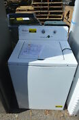 Whirlpool Cae2795fq 27 White Top Load Commerical Washer Nob 18493 T2