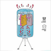 Portable Electric Clothing Dryer 900w Folding Wardrobe Drying Rack With Heater