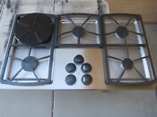 Dacor Sgm365s 36 Stainless Steel Gas Cooktop