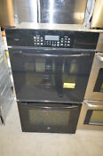 Ge Pk7500dfbb 27 Black Double Electric Wall Oven Nob 19553