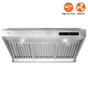 Lt Touch Screen 30 Under Cabinet High Airflow 800cfm Ducted Range Hood Rh01 R