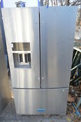 Kitchenaid Krff507ess 36 Stainless French Door Refrigerator Nob 19952