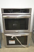 Frigidaire Fget3065pf 30 Stainless Double Electric Wall Oven Nob 852 Wlk