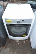 Maytag Mgd5500fw 27 White Front Load Gas Dryer Nob 20144 Wlk