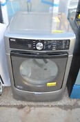 Maytag Med5500fc 27 Metallic Slate Front Load Electric Dryer Nob 20143 Clw T2
