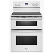 Whirlpool Wge555s0bw 30 White Electric Double Oven Range Nib 20997 T2