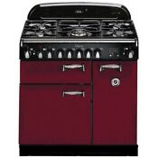 Aga Aleg36dfcrn 36 Pro Style Dual Fuel Range In Cranberry Natural Gas