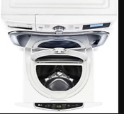 Nib Lg 29 1 Cf Twin Wash Pedestal Sidekick Washer White Wd200cw