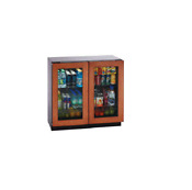 U Line U3036rrglol00 36 Custom Panel Freestanding Beverage Center Nob 21314