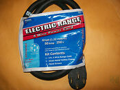 Brand New Electrolux 4 Ft Universal 4 Wire 50 Amp Range Stove Power Cord