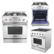 Thor Kitchen 30 Professional Stainless Steel Gas Range With 4 Burners Us Ship