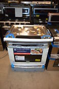 Electrolux Ew30gs80rs 30 Stainless Slide In Gas Range Nob 21637
