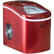 Compact Portable Ice Maker 26 Lbs Of Ice In 2 Different Sizes W Handy Ice Shovel
