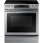 Samsung Stainless Steel 30 Electric Induction Slide In Range Ne58k9560ws Oven
