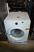 Whirlpool Wed7990fw 27 White Front Load Electric Dryer Nob 23902