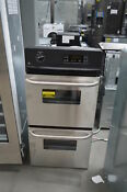 Ge Jrp28skss 24 Stainless Double Electric Wall Oven Nob 25061 Hl