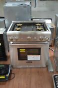 Thermador Prg304gh 30 Stainless Pro Style Natural Gas Range Nob 24999 Hl