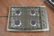 Ge Monogram Zgu384nsmss 30 Stainless 4 Burner Gas Cooktop Nob 25026 Hl