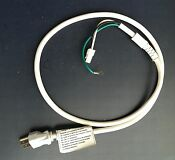 Kitchen Aid Microwave Power Cord From Model Khms155l