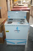 Hotpoint Rb525dhww 30 White Freestanding Electric Range Nob 25883 Clw