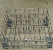 Gdt550hgd4ww Wd28x10358 Used Gray Ge Dishwasher Lower Rack With Adjustable Tines