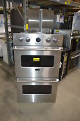 Viking Vedo5302ss 30 Stainless Double Electric Wall Oven Nob 24198