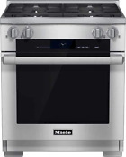 Miele Hr1924dflp 30 M Touch Stainless Dual Fuel Lp Freestanding Range 13798
