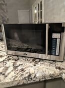 Oster 1 1 Cu Ft 1000 Watt Digital Microwave Oven Ogg61101 Used Lightly